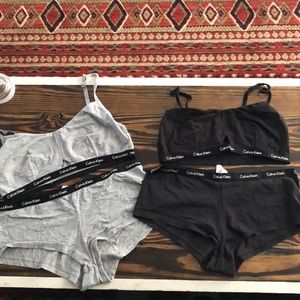 Grey and black CK sets